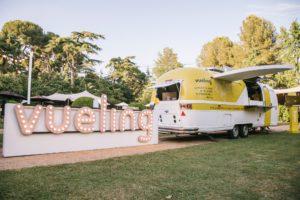 Festival jardins pedralbes BArcelona KOA Diseño Producción Evento Food truck Vueling Hospitality