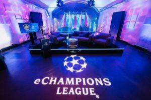 Production set tv eLeague EA FIFA World Cup Event Show Design KOA Digital